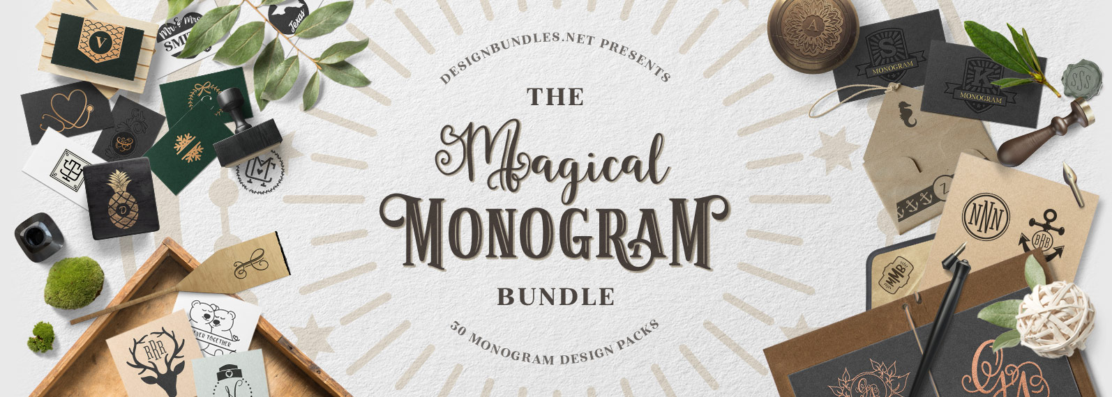 The Magical Monogram Bundle Cover