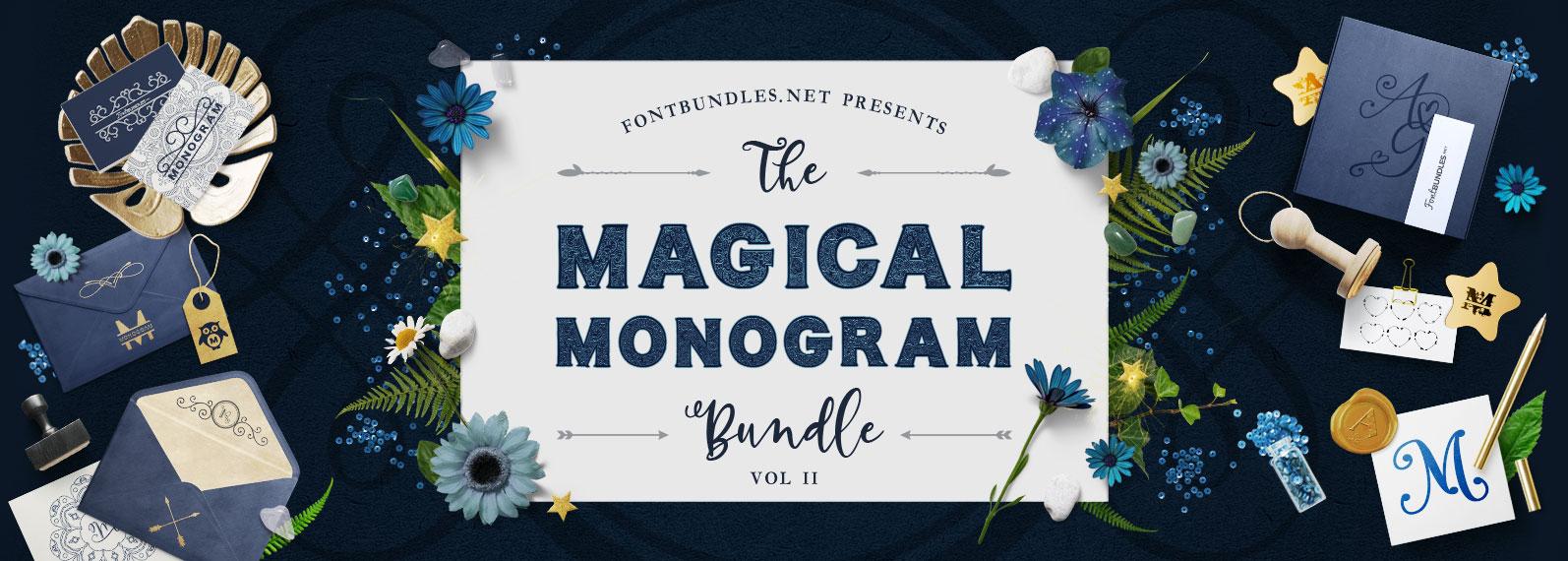 The Magical Monogram Bundle II Cover