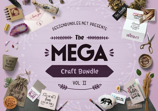 The Mega Craft Bundle Ii Design Bundles