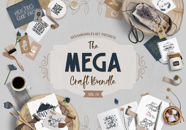 The Mega Craft Bundle IV Cover