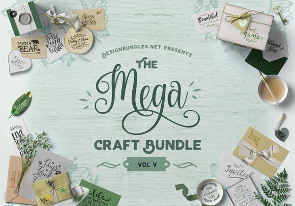 The Mega Craft Bundle V Cover