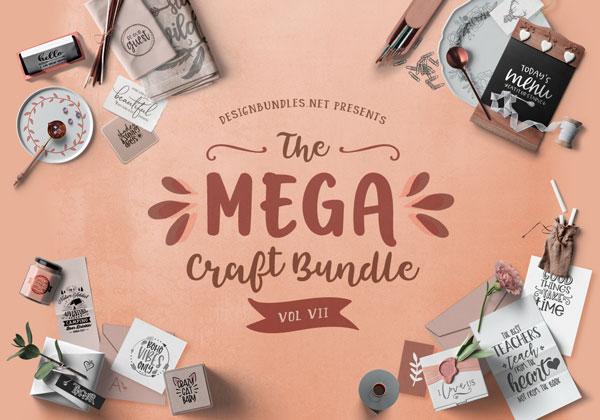 The Mega Craft Bundle VII Cover