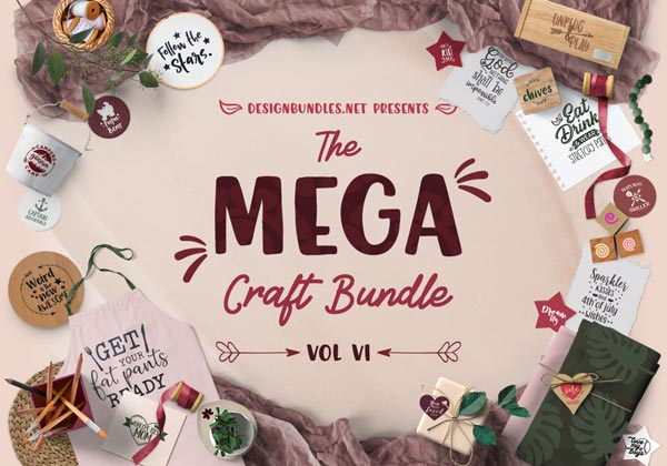 The Mega Craft Bundle VI Cover