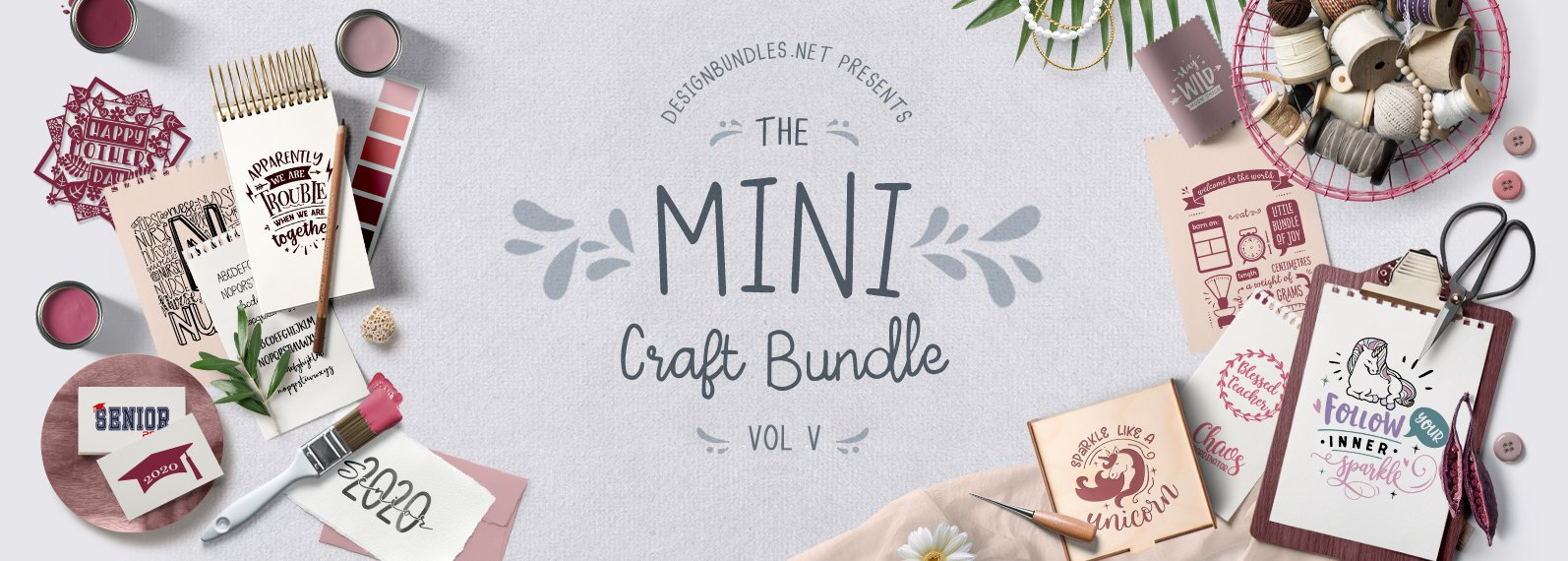 The Mini Craft Bundle V Cover