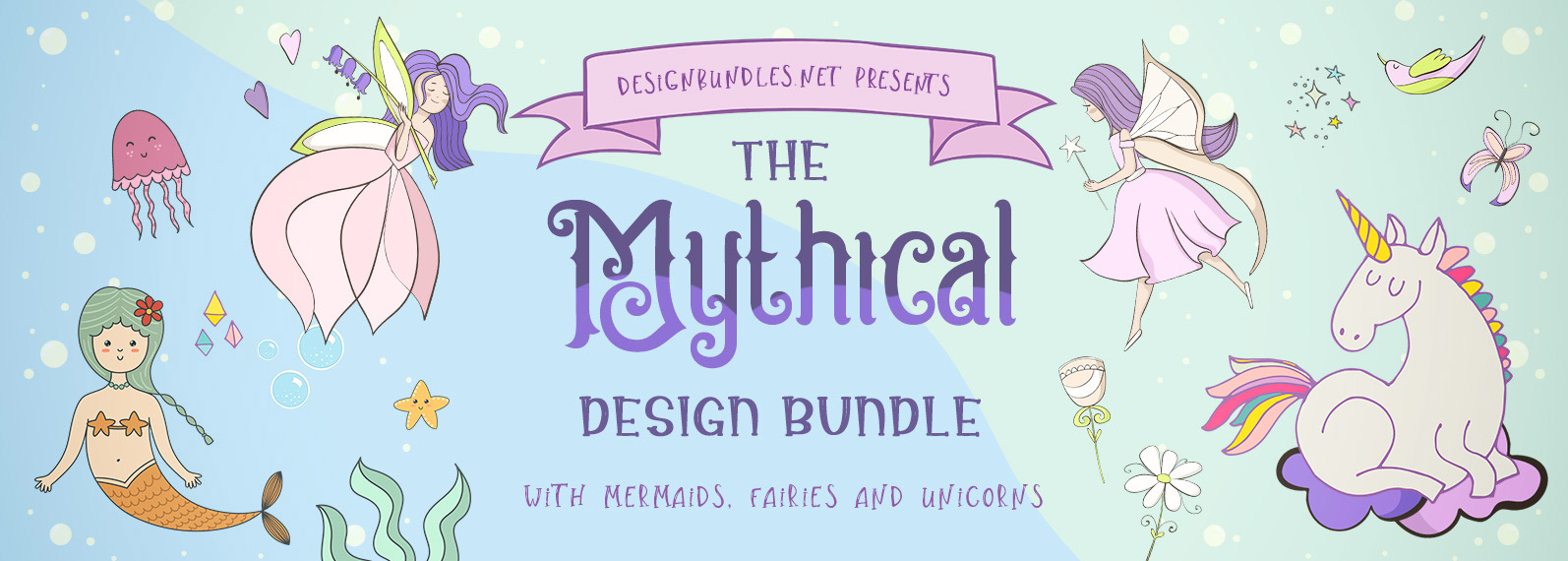 The Mythical Design Bundle Cover