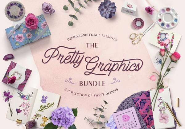 The Pretty Graphics Bundle Cover