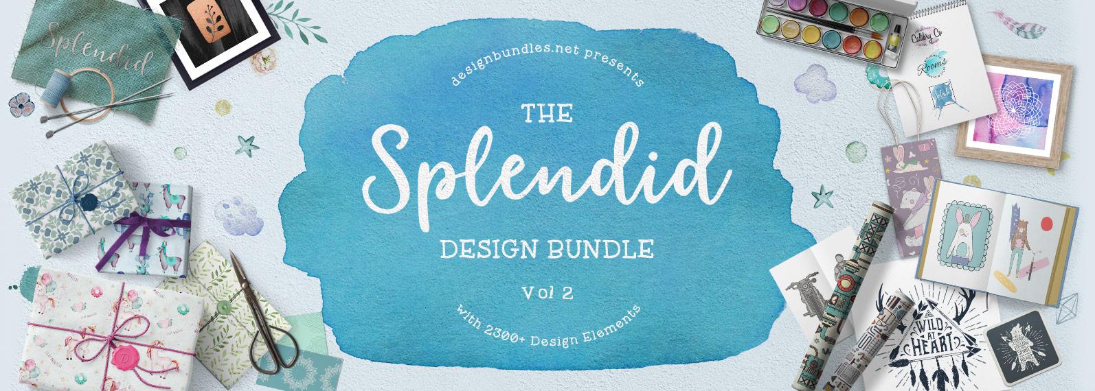The Splendid Design Bundle Volume II Cover