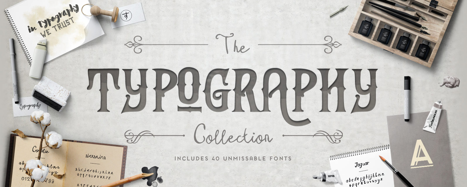 The Typography Collection Cover