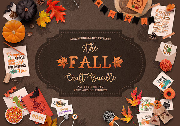 The Fall Craft Bundle Cover