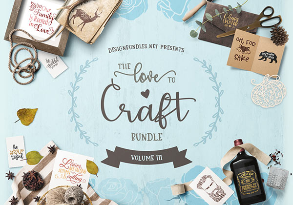 Love to Craft Volume III Cover