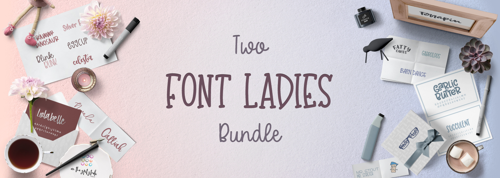The Two Font Ladies Bundle Cover