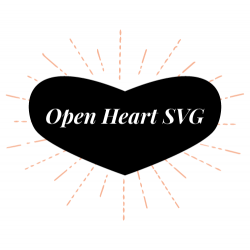 Open Heart SVG avatar