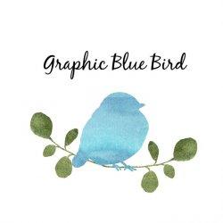 Graphic Blue Bird avatar