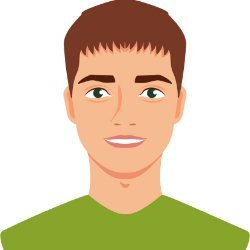 SK vector avatar