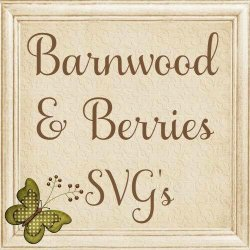 Barnwood and Berries SVG