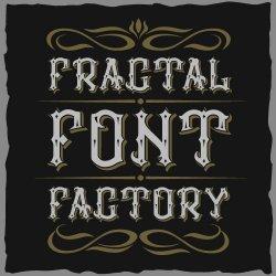 Fractal fonts Avatar