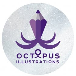 Octopus illustrations Avatar