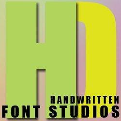 HD font studios Avatar