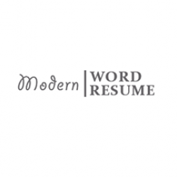 Modern Resume Word avatar