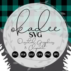 Okadee SVG avatar