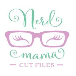 Nerd Mama Cut Files Avatar