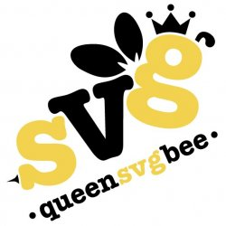 Queen SVG Bee Avatar