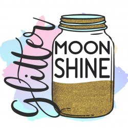 Glitter Moonshine SVG avatar