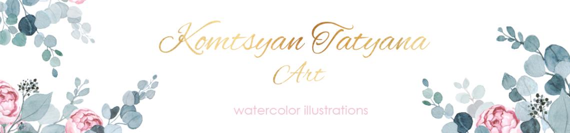 KomtsyanTatyanaArt Profile Banner