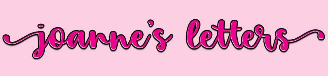 Joanne's Letters Profile Banner