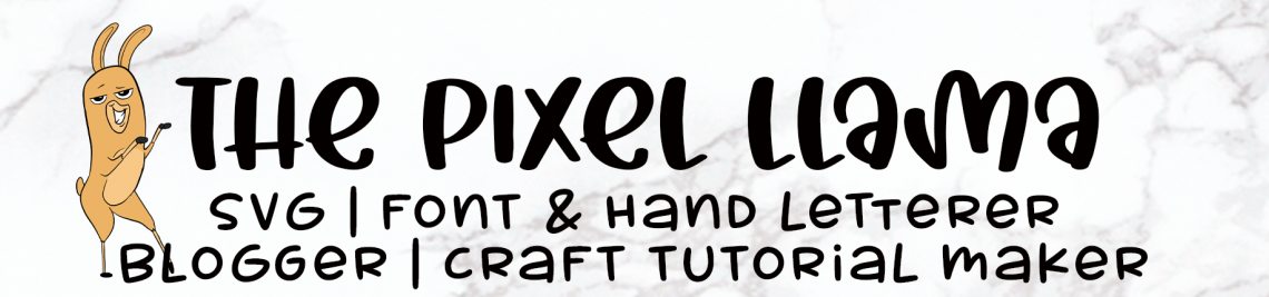 The Pixel Llama Profile Banner