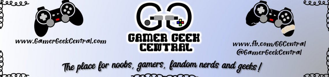 Gamer Geek Central Profile Banner