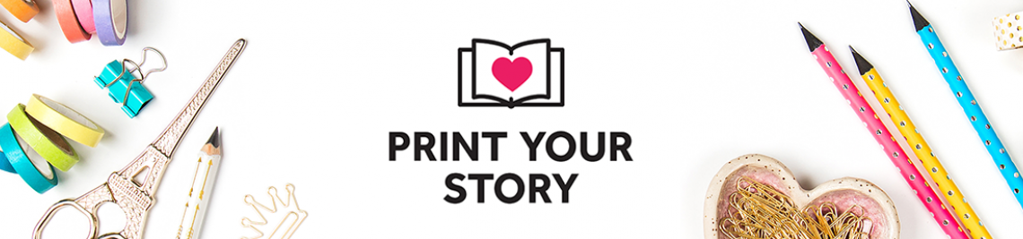 Print Your Story Profile Banner