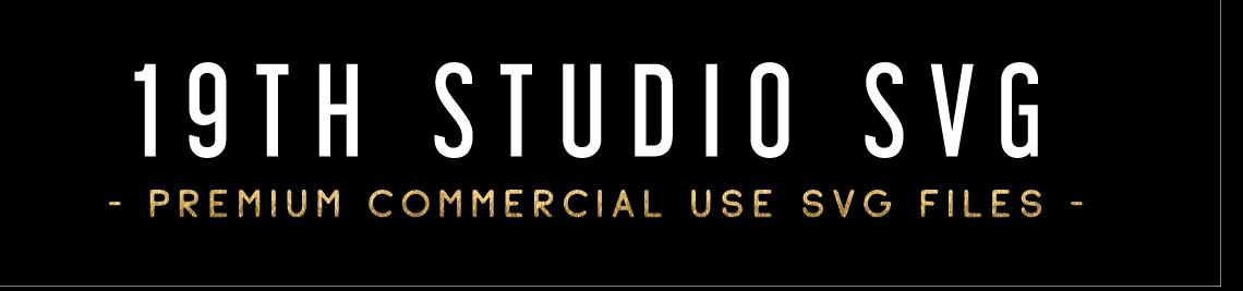 19TH STUDIO SVG Profile Banner