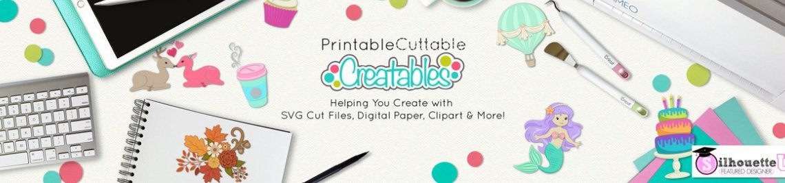 Printable Cuttable Creatables Profile Banner
