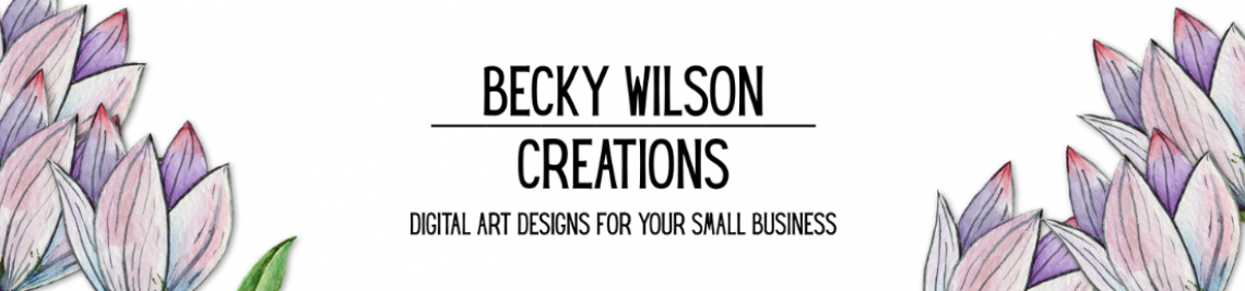 Becky Wilson Creations Profile Banner