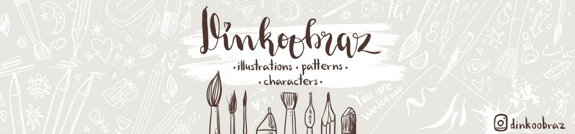 Dinkoobraz illustration Profile Banner