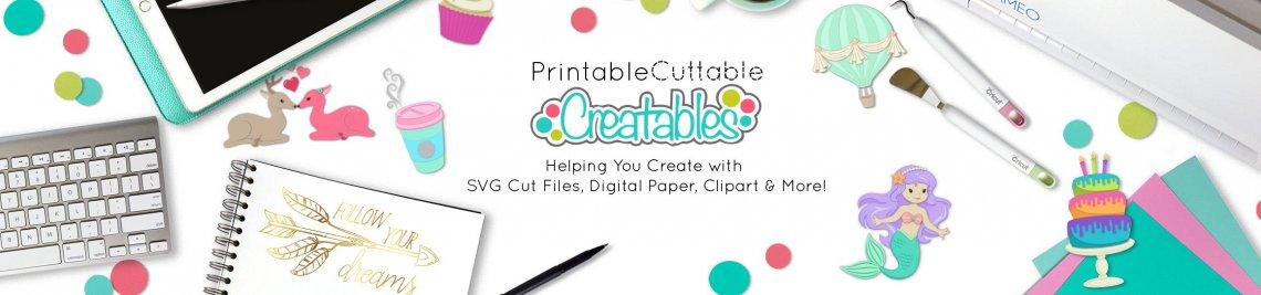 Printable Cuttable Creatables Profile Banner