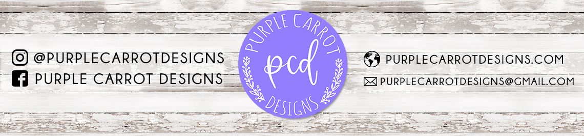 Purple Carrot Designs Profile Banner