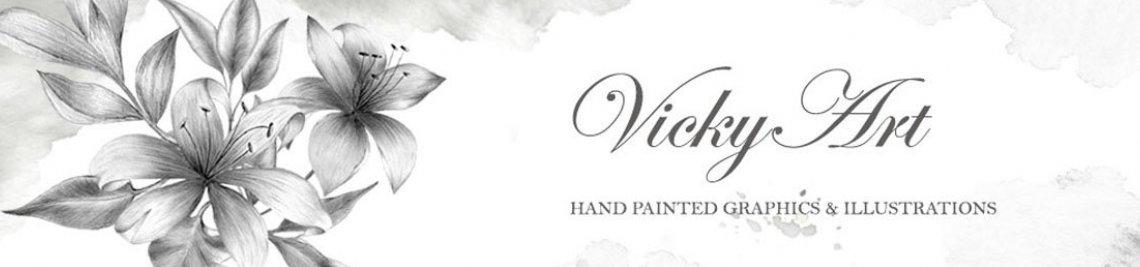 VickyArt Profile Banner