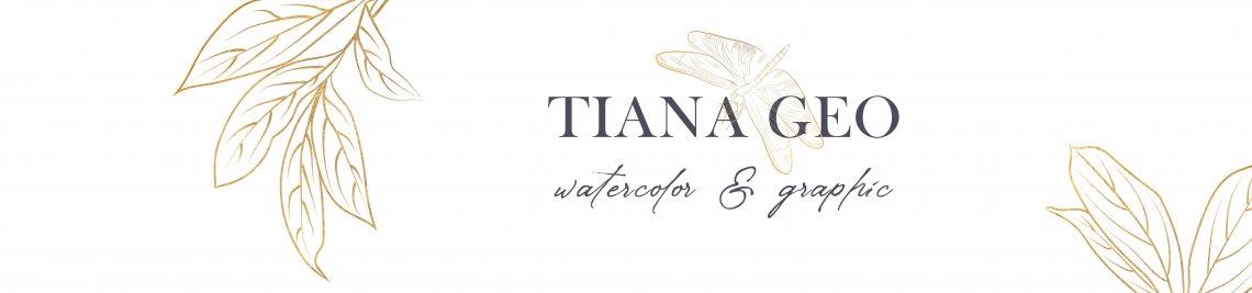 Tiana Geo Art Profile Banner