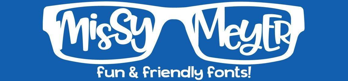 Missy Meyer Fonts Profile Banner