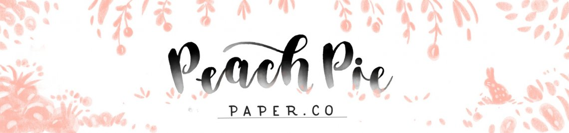 Peach Pie Paper Co Profile Banner