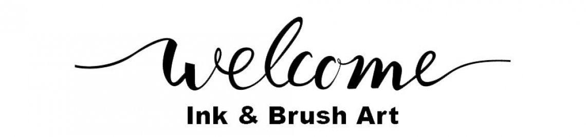 Ink & Brush ART Profile Banner