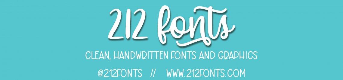 212 Fonts Profile Banner