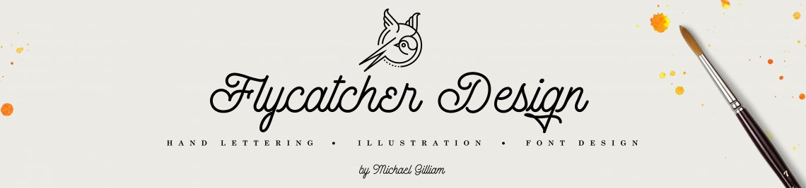 Flycatcher Design Profile Banner