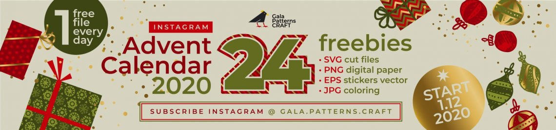 Gala Patterns Craft Profile Banner