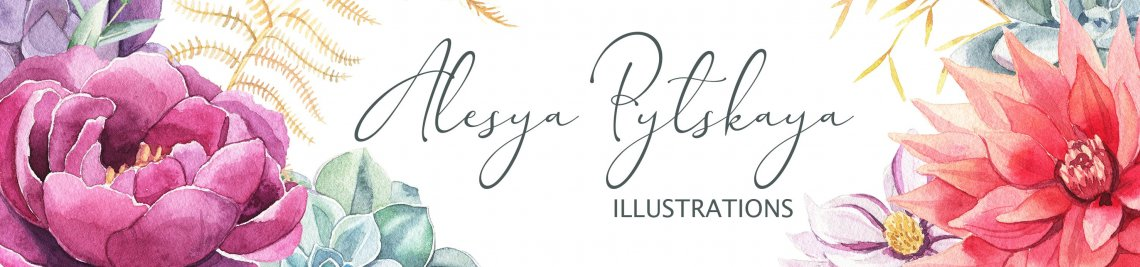 Alesya Pytskaya Illustrations Profile Banner