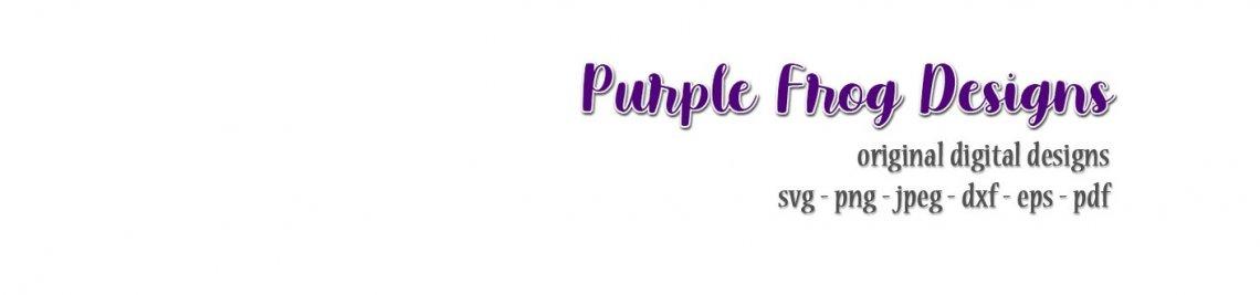 Purple Frog Designs Profile Banner