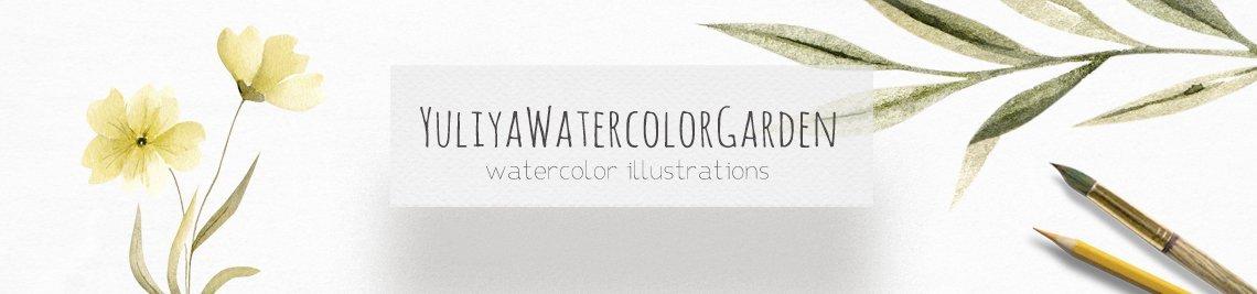 YuliaWatercolorGarden Profile Banner