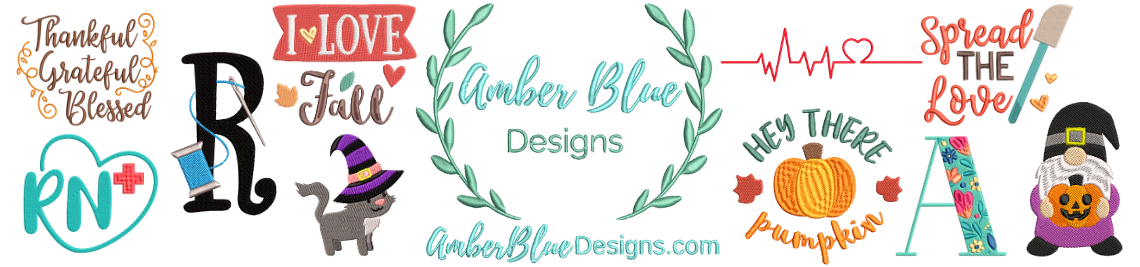 Amber Blue Designs Profile Banner